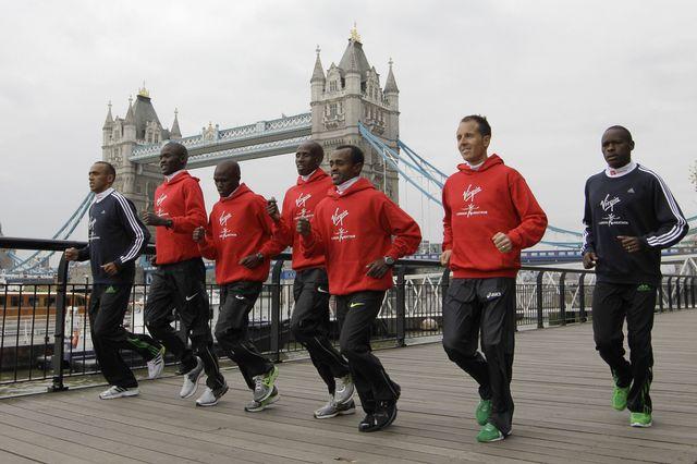 L'élite de la discipline, dont Viktor Röthlin, a pris ses repères à Londres il y a un peu plus d'une année lors du marathon disputé dans la capitale anglaise. [Keystone]