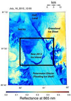Selon la Nasa, la fracture s'est produite entre le 16 et le 17 juillet. [AP Photo/NASA - Keystone]