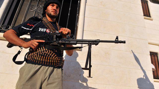 Les rebelles contrôlent la frontière entre la Syrie et l'Iraq. [Bulent Kilic - AFP]