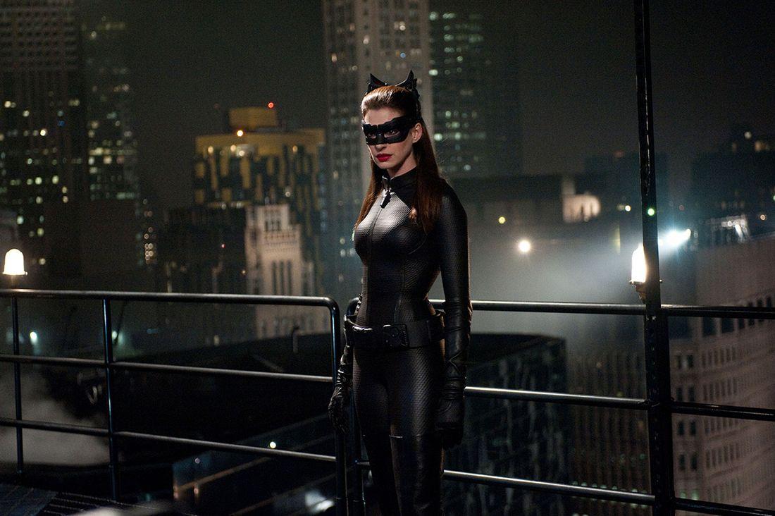 Batman et Catwoman The dark knight masque