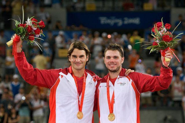 Stanislas Wawrinka succède à Roger Federer comme porte-drapeau de la Suisse. [ALESSANDRO DELLA BELLA  - Keystone]