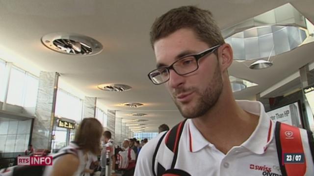 JO d'été 2012: cinq jours avant le début de l'évènement, une partie de la délégation suisse s'est envolée pour la capitale anglaise