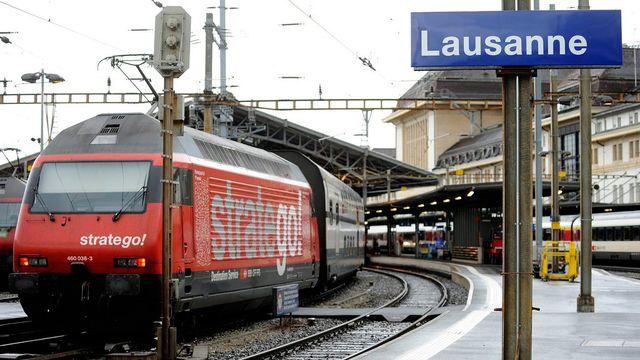 Les Suisses et les trains, toute une histoire d'amour! [Dominic Favre - Keystone]