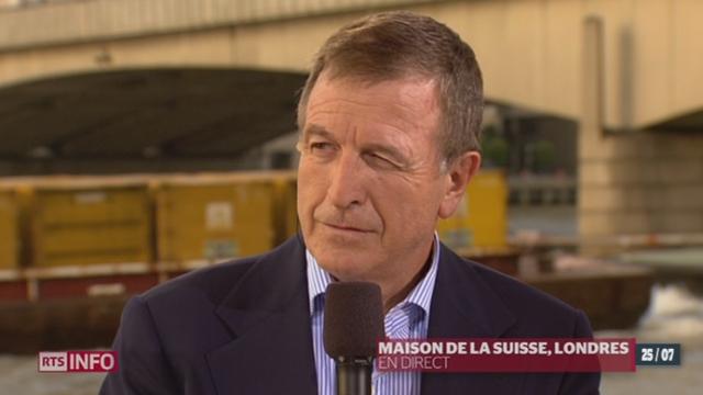JO 2012: entretien avec Gilbert Felli, Dir. exécutif du CIO, depuis la Maison de la Suisse à Londres (1/2)