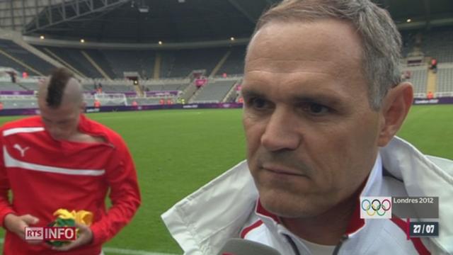 JO 2012: itw de Pierluigi Tami, entraîneur équipe de Suisse de football