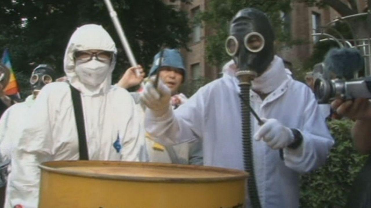 Séquences choisies - Défilé anti-nucléaire au Japon