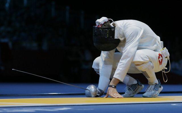 La déception est immense pour Max Heinzer (photo) et Fabian Kauter, sortis en 8es du tournoi olympique alors qu'ils visaient la médaille... [Dmitry Lovetsky - Keystone]