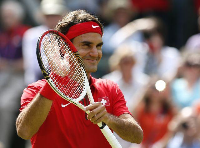 Roger Federer a été le seul Suisse à crier victoire ce mercredi 1er août. [Stefan Wermuth - Reuters]