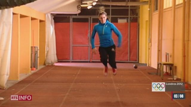 JO 2012: Ellen Sprunger est la première sportive à représenter l'athlétisme suisse durant ces Jeux