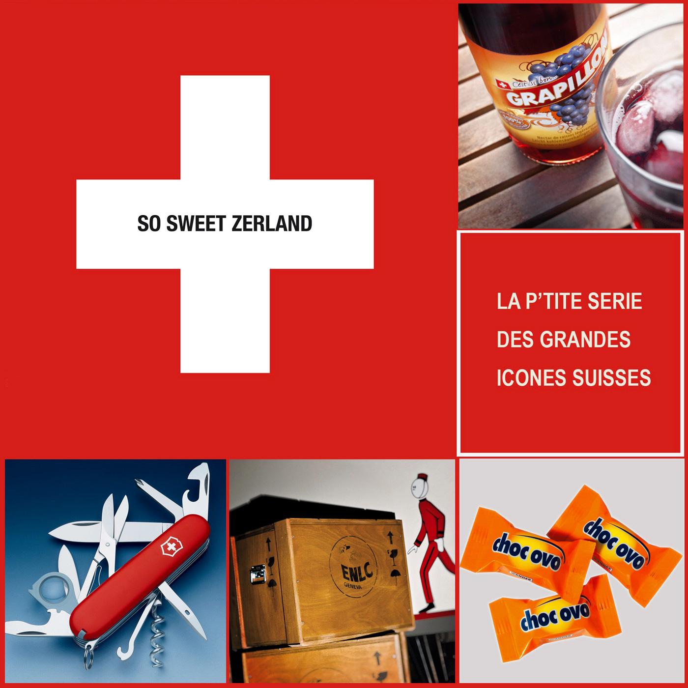 Logo de l'émission : So Sweet Zerland