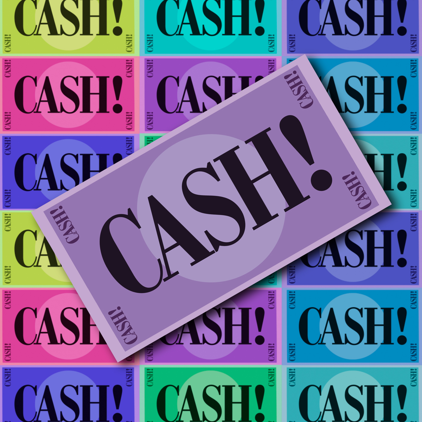 Logo de l'émission : Cash