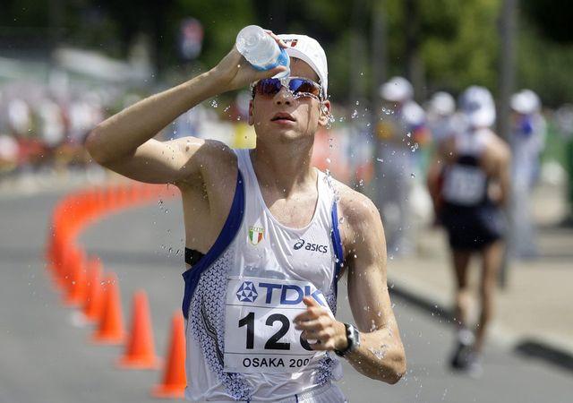 Champion olympique en titre du 50km marche, Alex Schwazer aura connu une fin de carrière bien triste. [David Guttenfelder  - Keystone]
