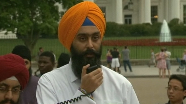 Séquences choisies - Manifestation sikh à Washington