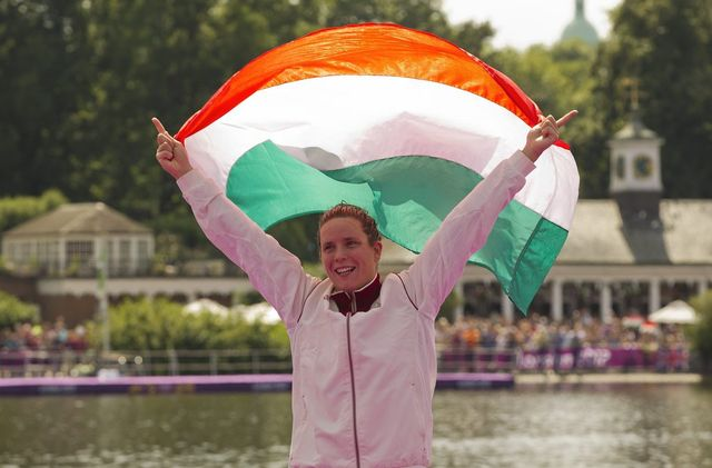 Eva Risztov est allée au bout de son rêve olympique.   [ PATRICK B. KRAEMER  - Keystone]