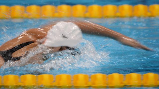 La nageuse chinoise Ye Shi [Alexander Vilf - RIA Novosti - AFP]