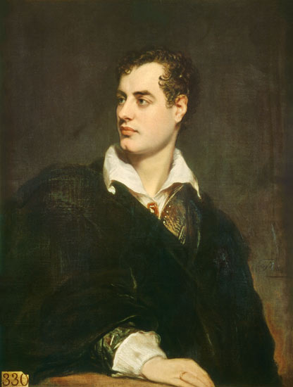 Lord Byron par Thomas Philipps (1824)