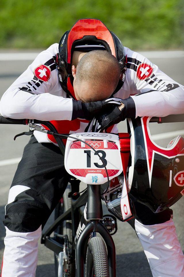 Comme en 2008, Rinderknecht échoue une nouvelle fois aux portes de la finale olympique. [JEAN-CHRISTOPHE BOTT - Keystone]