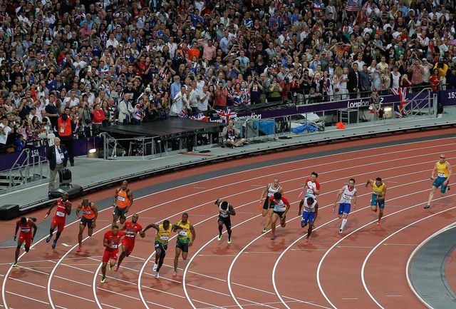 Les spectateurs ont répondu présents, remplissant chaque jour du matin au soir les 80'000 places du stade olympique. [Nic Bothma - Keystone]