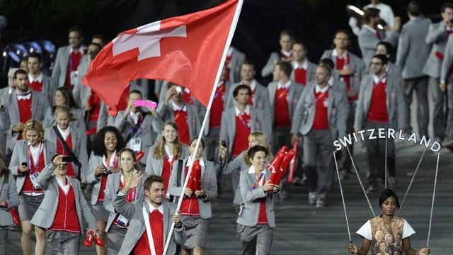 Bilan insuffisant pour la délégation suisse. [LAURENT GILLIERON  - Keystone]