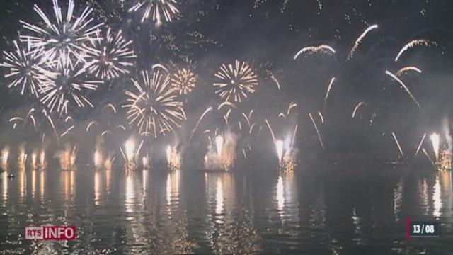 Série d'été à travers la Suisse romande: l'été est la saison des feux d'artifices