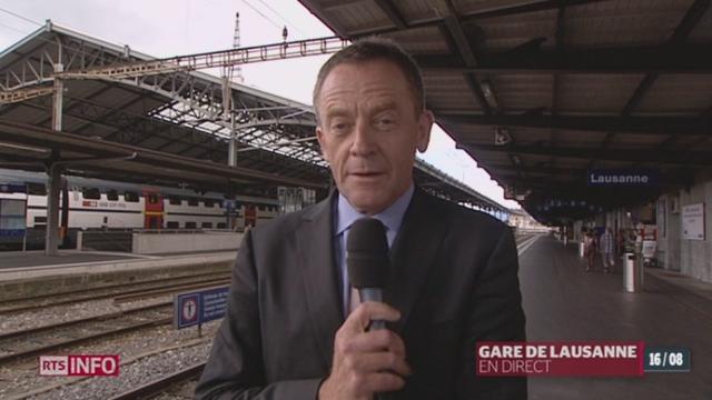 Projet d'agrandissement de la gare CFF de Lausanne: entretient avec Laurent Staffelbach, chef du projet Léman 2030