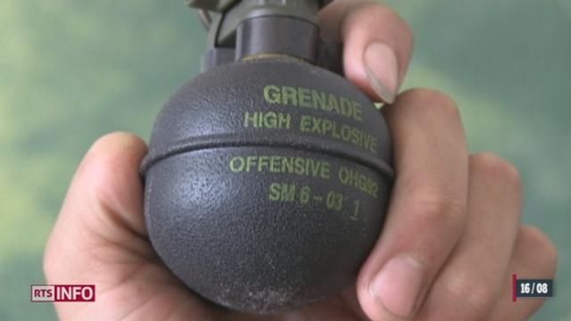 Des milliers de grenades suisses sont passées par les Emirats Arabes Unis avant d'arriver à la rébellion syrienne