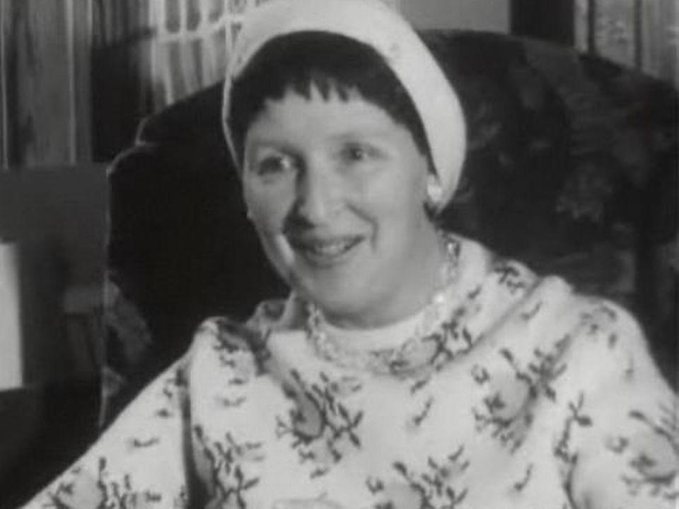 Corinna Bille en 1961 [TSR]