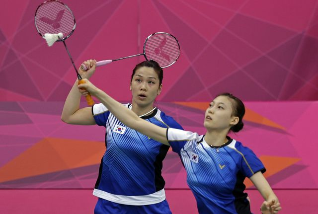 Jung Ky-Ung (à gauche) et Kim Ha-na ont bien fait de faire appel. [Andres Leighton - Keystone]