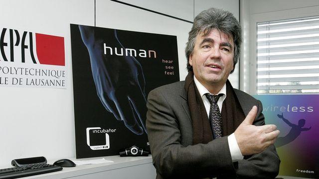 Patrick Aebischer, président de l'Ecole polytechnique fédérale de Lausanne (EPFL). [Magali Girardin]