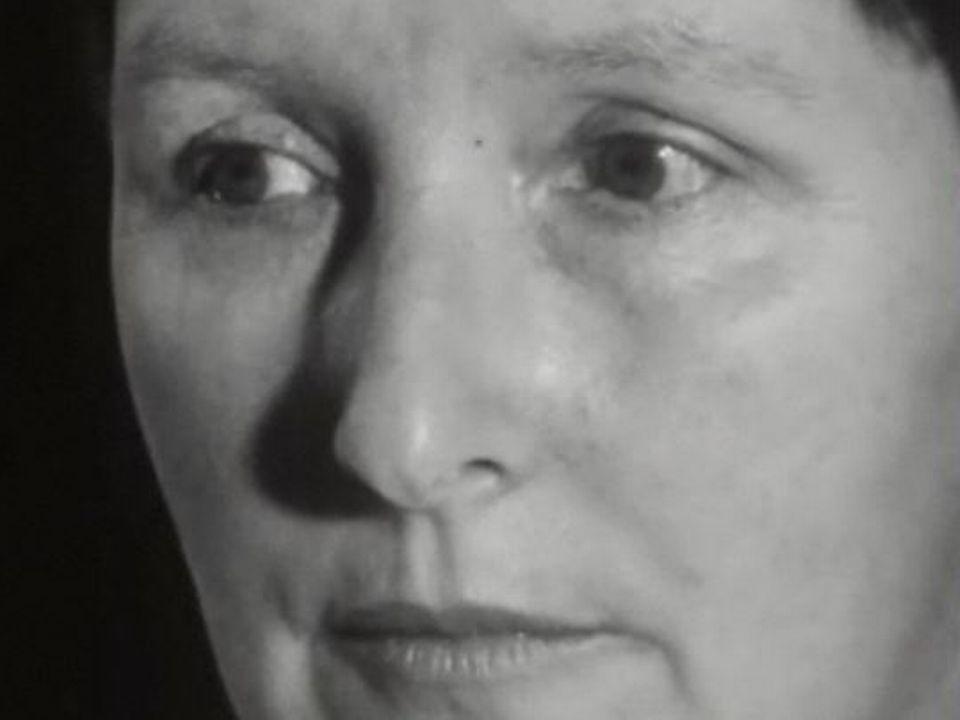 Corinna Bille en 1961. [TSR]