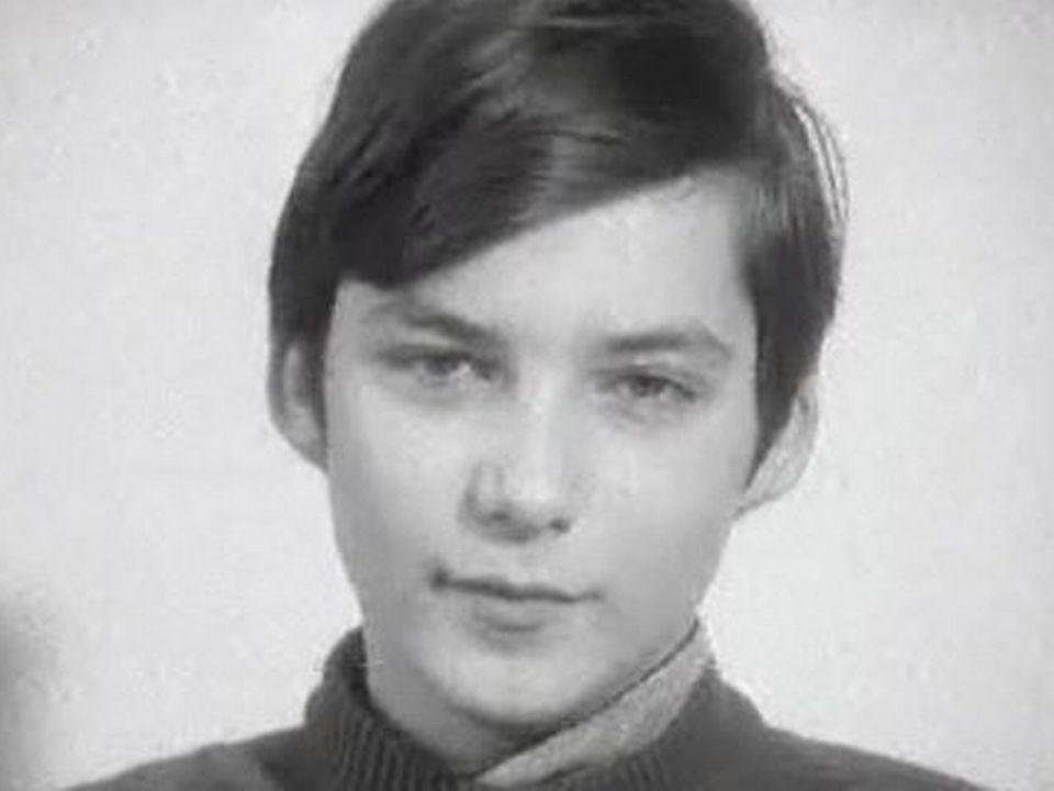 Un adolescent en 1970. [RTS]