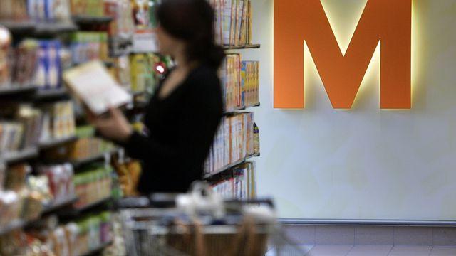 Via les magasins en ligne, le consommateur allemand paie moins cher les produits Migros que son alter ego suisse.  [Keystone]