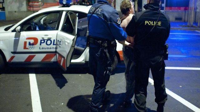 Violences et incivilités se sont multipliées ces derniers mois à Lausanne le week-end. [Keystone]