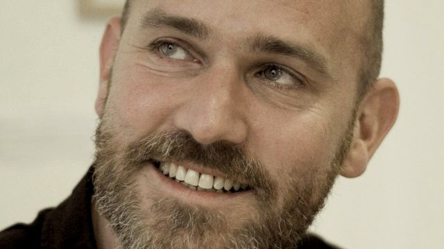 Léonard Vincent, journaliste et écrivain français. [Frédéric Guina]