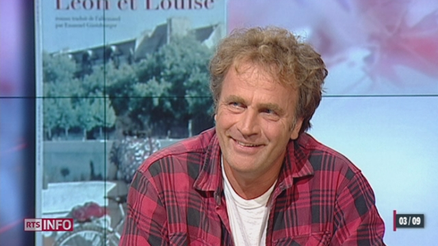 L'invité culturel: Alex Capus, écrivain et auteur de Léon et Louise