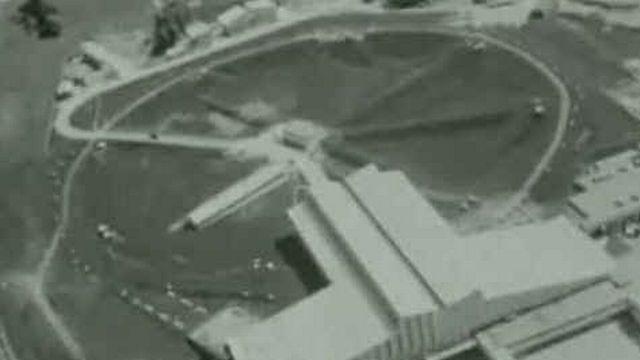 Le CERN en Suisse en 1965. [RTS ]