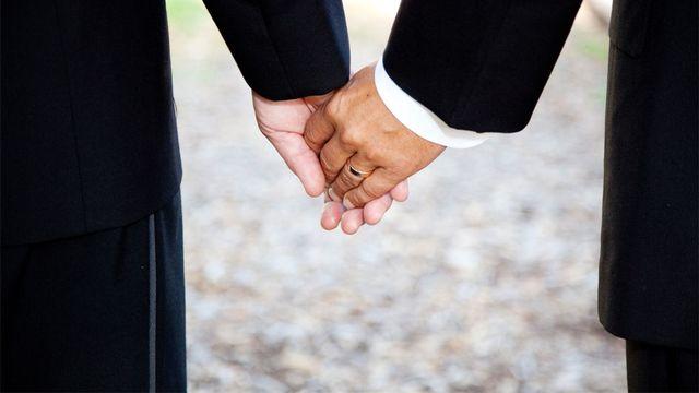 En 2012, les homosexuels ne peuvent pas se marier en Suisse. Lisa F. Young Fotolia [Lisa F. Young - Fotolia]