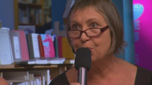 Sylviane Friederich présente le Livre sur les quais à Morges