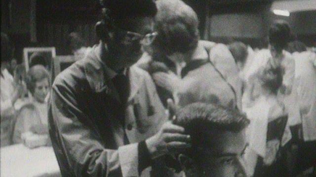 Exposition d'apprentis coiffeurs à Neuchâtel