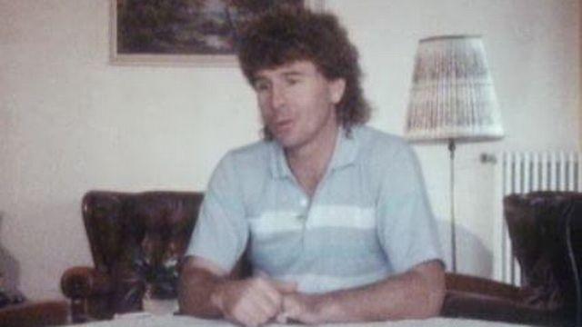 Gabet Chapuisat en 1985. [RTS]