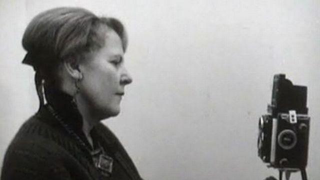 La photographe Henriette Grindat en 1966. [RTS]