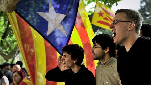 La Catalogne réclame encore et toujours on indépendance. [Josep Lago - AFP]