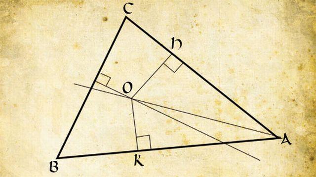 Tous les triangles ne sont évidemment pas isocèles. Et pourtant...