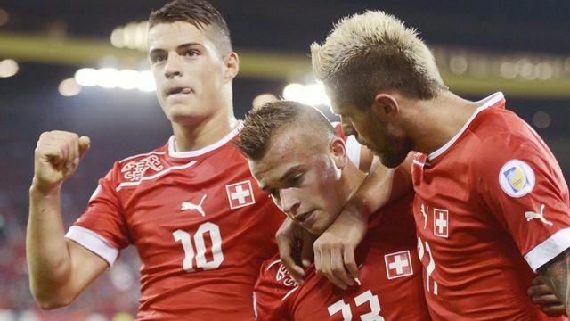 La Suisse s'est assurée six points en deux matchs. [Walter Bieri - Keystone]