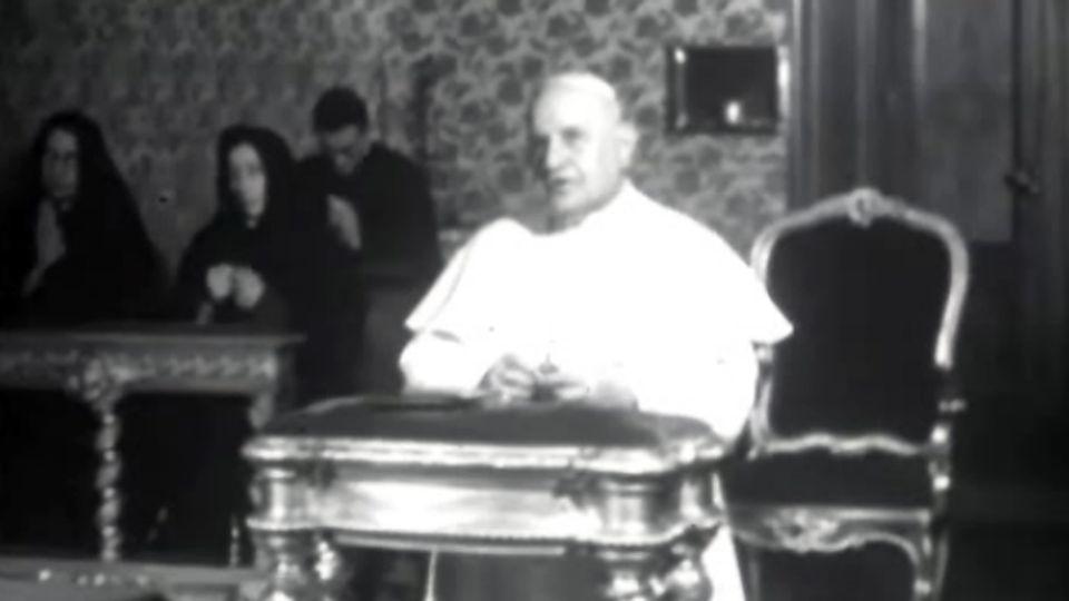 """""""L'après Jean XXIII"""" - Point du 13 juin 1963. [RTS]"""