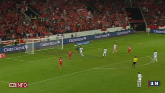 Football / qualifications pour la Coupe du monde 2014: l'équipe de Suisse s'est imposée mardi soir face à l'Albanie (2-0)