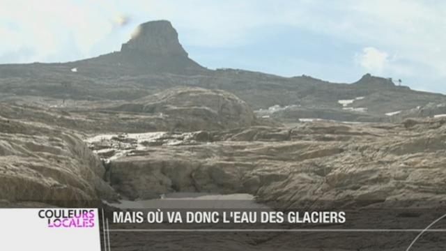 La fonte des glaciers révèle des zones de montagne qui étaient recouvertes de glace depuis des millénaires