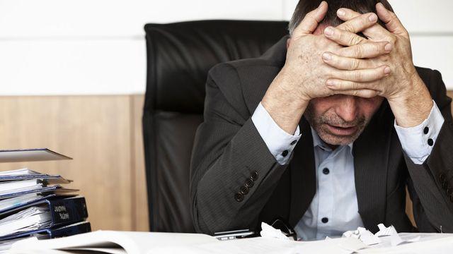 Selon le rapport 2010 du Seco, la perception du stress au travail est en augmentation. [Lichtmeister - Fotolia]