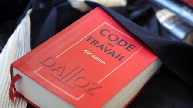Un exemplaire du Code du travail [AFP]