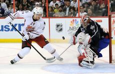 Couture a disputé le All-Star Game de la NHL en janvier 2012. [Sean Kilpatrick - Keystone]